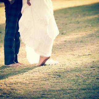 結婚式場の写真撮影のお手伝い