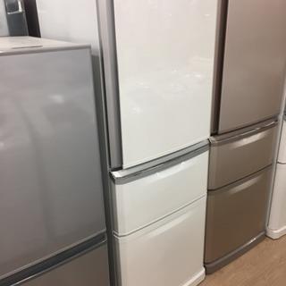 ○【安心12ヶ月保証付き】MITSUBISHI 3ドア冷蔵庫 2...