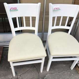 ダイニングチェア 椅子 ホワイト