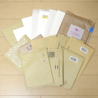 フリマアプリなどの発送に! 梱包材② クッション封筒(緩衝材入封筒...