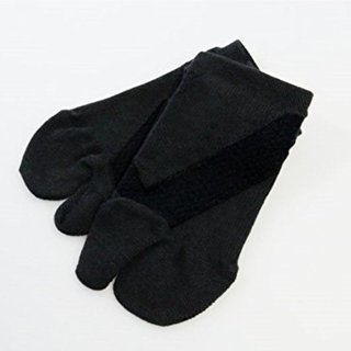 フレクサーソックス スニーカータイプ(Mサイズ)黒足袋型  - 大和市