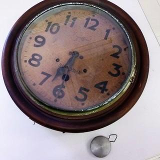 【アンティーク】SEIKOSHA 精工舎 学校時計 ボンボン時計 ...