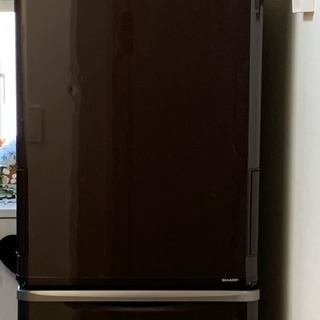 SHARP 2015年製冷蔵庫