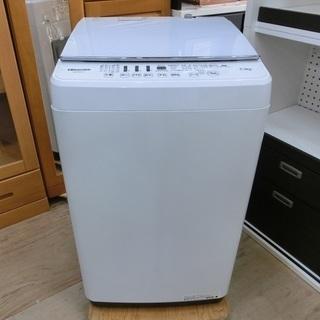 Hisense 5.5㎏ ステンレス槽 全自動洗濯機 HW…