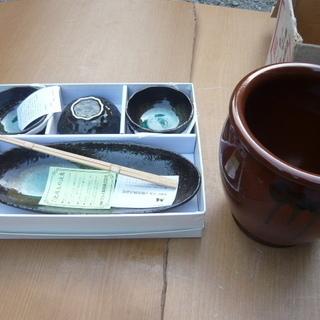 和皿(小鉢)セット・かめ・飯切セット