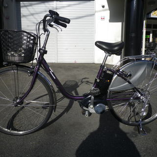パナソニック 電動アシスト自転車 ビビ デラックス 26