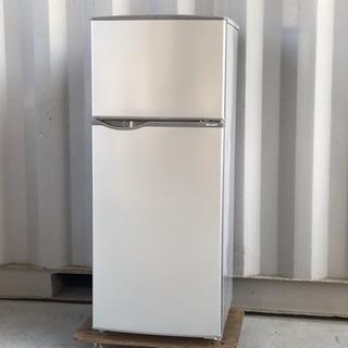シャープ 冷蔵庫◇直冷118L◇2017年製◇SJ-H12B-S...