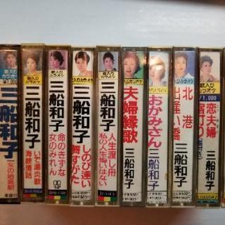 三船和子 歌入りカラオケ 11本