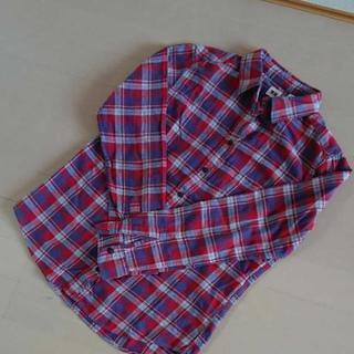 【格安】ユニクロ チェックシャツ!
