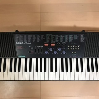 キーボード カシオ ピアノ CT-400