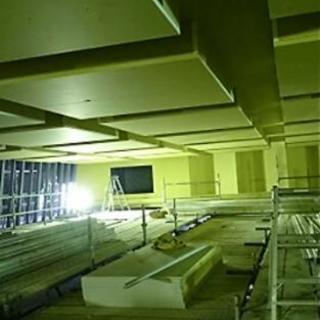 内装業 石膏ボードの加工、施工