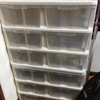 押入れ収納ケース 3段2列 2個セット