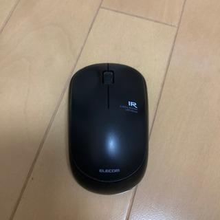 エレコム  ワイヤレス  LED  マウス