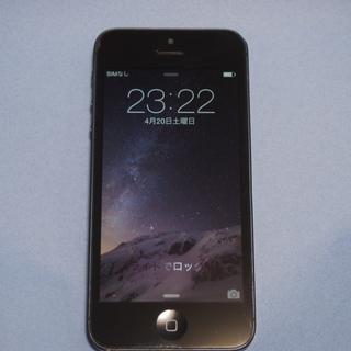 ★ iPhone5(64GB) au用 BLACK★