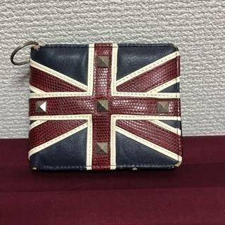 ユニオンジャック柄のお財布