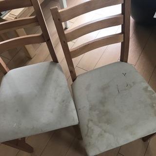 IKEAの椅子 2脚