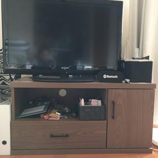 シンプル テレビ台 ブラウン