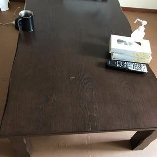 ローテーブル  デザインこたつ  ...