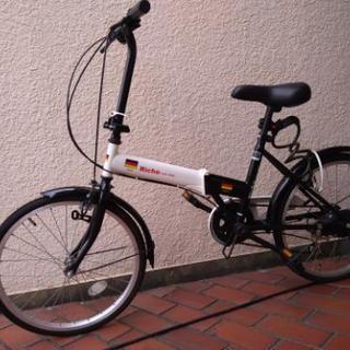 リッシュ 折り畳み自転車 20inc