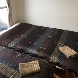 値下げしました。4/25までの搬出必須。民泊施設で使用していた家具...