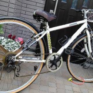 修理済み自転車27インチ、軽快車