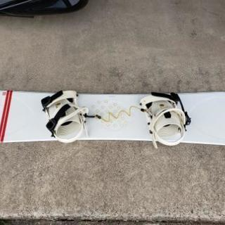 スノーボード ビンディング付き