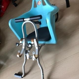 自転車につける子供用の椅子
