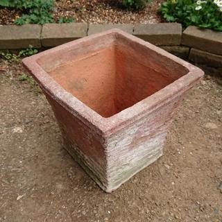 園芸用テラコッタ(素焼き植木鉢) 5点