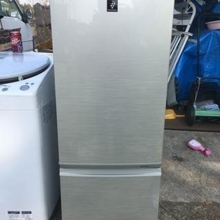シャープ SHARP プラズマクラスター 167L 冷凍冷蔵庫 ...