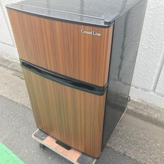 2018年 90L 2ドア冷蔵庫 世田谷区