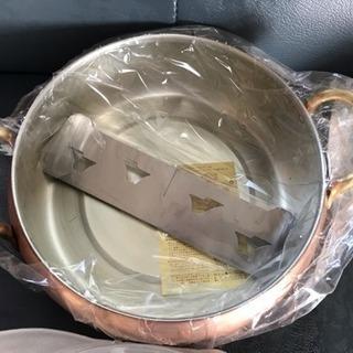 銅鍋 未使用品【値下げします】 - 阿波市