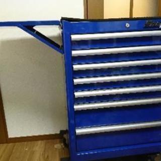 スナップオン 工具箱 7段 希少ブルー