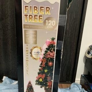 クリスマスツリー LEDファイバーツリー