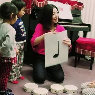 大宮・北与野0歳~5歳までの音楽総合教育リトミック体験レッスン開催♪