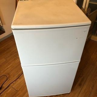 2枚ドア冷蔵庫