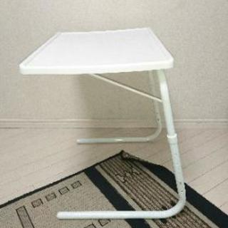 色々使える机と持ち運べるテーブル