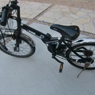 【あげます、再投稿】小児用自転車、補助輪外し練習用に如何ですか【...