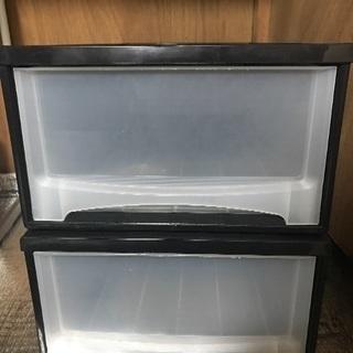 収納ケース 衣装ケース ボックス 2個セット