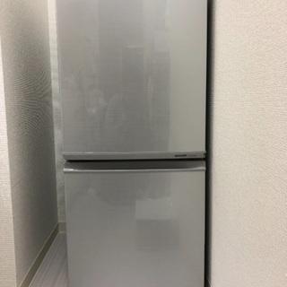 2ドア冷蔵庫 シャープ2012年製