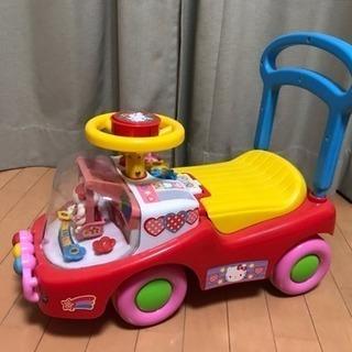 ハローキティ 幼児用乗用手押し車