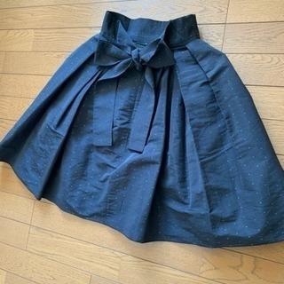 フレイアイディー  スカート ウエストリボン💕 ひざ丈 - 名古屋市