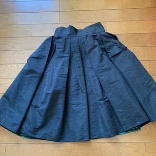 フレイアイディー  スカート ウエストリボン💕 ひざ丈 - 服/ファッション