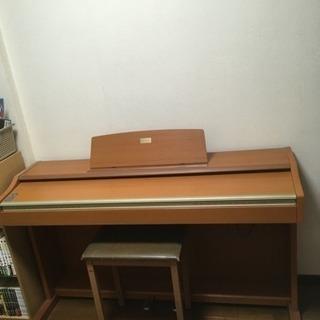 カシオの電子ピアノ