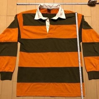 受渡し完了(中古品・使用感あり)  Mサイズ  ラガーシャツ