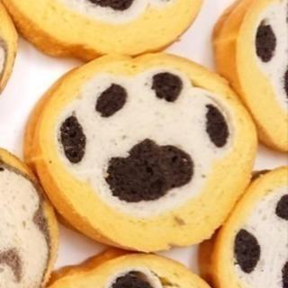 【デコ食パン★肉球&マフィン】