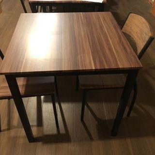 ダイニングテーブルセット(椅子2脚付)