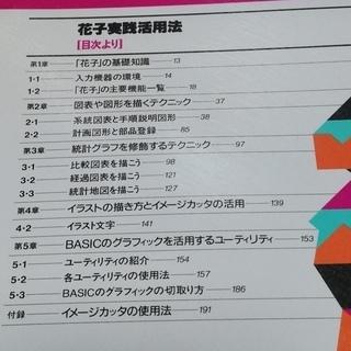 ナツメ社 花子実践活用法「PC-9801シリーズ」 − 長野県