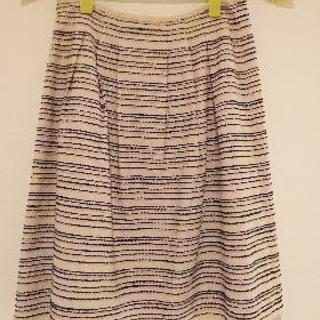 ANAYIのブルーステッチスカート
