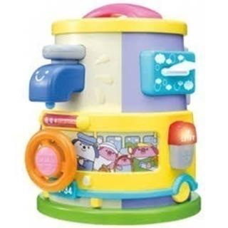 【知育玩具】Combi わくわくいたずらタワー 11種類のいたず...