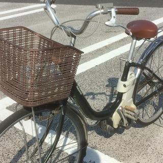 ナショナル電動アシスト付き自転車